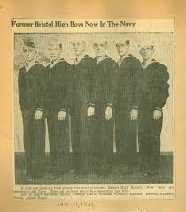 World War II Scrapbook | Former Bristol High Boys Now in the Navy