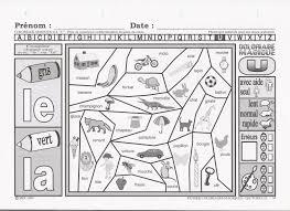 Coloriage Magique Lecture Cp Coloriages Codes A L Encre Violette