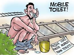 Image result for open defecation in india