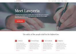 20 Best Wordpress Themes For Law Firms In 2018