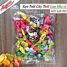 Kẹo trái cây Thái Lan mix vị 300g - Bán sỉ bánh kẹo Thái Lan