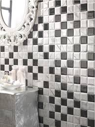 Black And White Tiles Black And White Tile Is A Huge Bath Trend