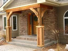 Great Brick Front Porch Pillars