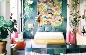 bohemian single bedroom diy boho decor bedspread though room ideas