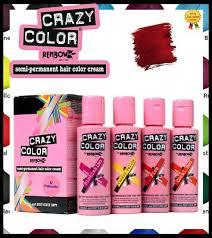 Crazy Color Semi Permanent Conditioning Hair Dye Hair Colour