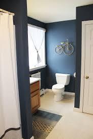 Master Bedroom And Bathroom Color Schemes Boys Bathroom Benjamin Moore Newburyport Blue West Elm Rug And