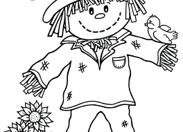 scarecrow hat coloring page scarecrow coloring page free printable scarecrow coloring sheet great scarecrow coloring pages