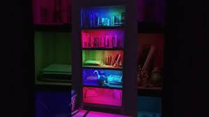 Bookshelf Lighting Ws2812b Bookshelf Lights Using Arduino Uno Youtube