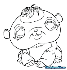 Coloring Pages To Print Sheets Printable Pet Shop Littlest Lps Cat