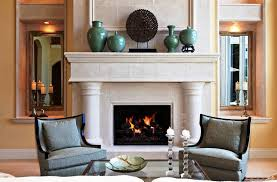 decorating ideas for fireplace mantels and walls nice fireplaces