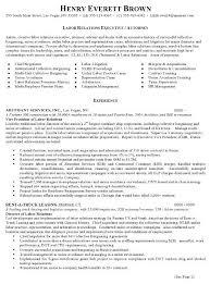 Resume Sample 7 Attorney Resume Labor Relations