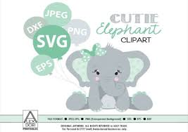 Download icons in all formats or edit them for your designs. Girl Baby Elephant Graphic By Adlydigital Creative Fabrica