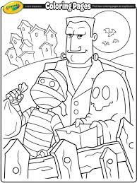 The use of different colors usually crayons are valuable tool to make the images for every coloring pages to become colorful, beautiful and lively. Halloween Trick Or Treaters Coloring Page Crayola Com