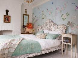 Shabby Chic Bedroom Wallpaper Beautiful Floral Wallpaper Designs For Captivating Bedrooms Quirky