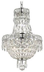 french empire crystal chandelier chandelier 3 light