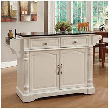Kitchen Island Cart Granite Top Within With Plan 16 White Home