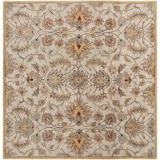 artistic weavers john gold 10 ft square area rug