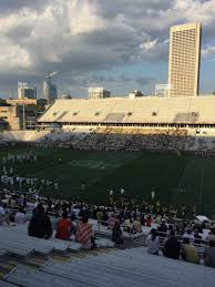 Bobby Dodd Stadium Section 103 Row 44 Seat 19 Georgia
