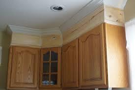 Adding Crown Molding To Kitchen Cabinets Unique Decoration