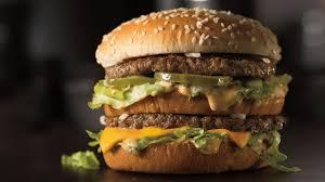 Mcdonald S Menu Calorie Chart 84 Popular Fast Food Hamburgers Ranked By Calories