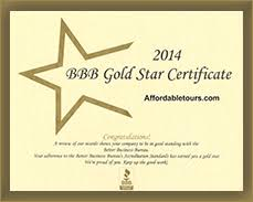 Awards Received By Affordabletours Com Huge Discounts On Tours