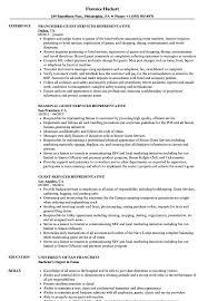 Field Service Representative Sample Resume Guest Services Representative Resume Samples Velvet Jobs 24