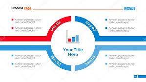 Timeline Slide Template Round Timeline Slide Template Stock Vector Surfsup