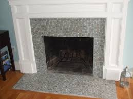 gray brick with square tile and white wall as border
