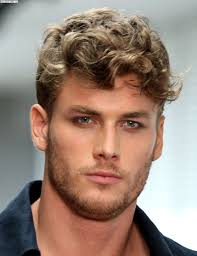 Hairstyle Adorable Haircuts For Men With Curly Hair