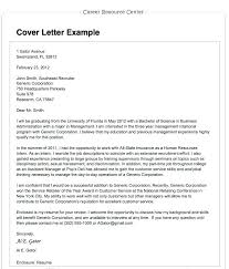 Examples Of Cover Letters For Resume Adorable Cover Letter Examples Malaysia