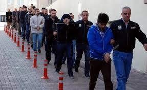 نتیجه تصویری برای آغاز موج جدید دستگیری کارمندان در ترکیه به بهانه کودتای نافرجام