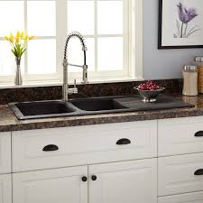Kitchen Sinks Granite Composite 46 Owensboro Double Bowl Drop In Granite Composite Sink With