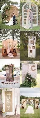 35 rustic old door wedding decor ideas for outdoor country weddings 2487953 weddbook