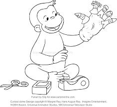 Disegno Di George Che Costruisce Le Marionette Curioso Come George