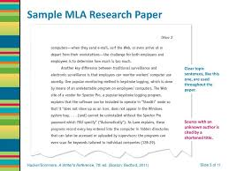 Research Paper Source Sample Mla Research Paper Ppt Download