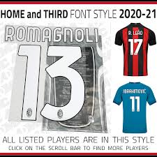 The home, away, and third dls 19 kits can be imported in a simple the fly emirates is once again the main sponsor of associazione calcio milan. 2020 21 Ac Milan Home And Third Kits Admc Llc