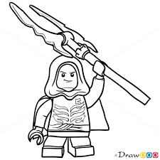 Lego Ninjago Kleurplaat Lloyd Garmadon How To Draw Lloyd Garmadon