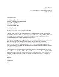Rn Cover Letter For Resume Together With Cover Letter Examples