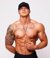 Tapety Muži Kulturista Tetování Tvary Břišní Svaly Osoba Bez