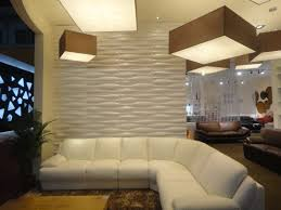Wall Covering For Living Room Marvelous Ceiling Lighting With 3d Wall Panels Also Modern Tv