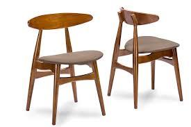 mid century dining chair. Mid Century Dining Chairs Intended For Amazon Com Baxton Studio Set Of 2 Flamingo Dark Walnut Design 17 Chair C
