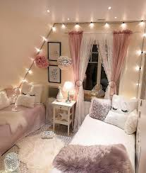 Cute Rooms With Lights Color Scheme Is So Cute Plus The Lights Room Decor Dream