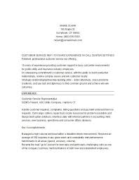 Customer Service Resume Template Free Cool 40 Customer Service Resume Examples Template Lab
