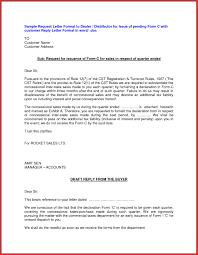 Request Letter Format Distributorship Best Of New Certification
