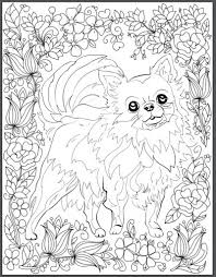 De Stress With Dogs Downloadable 10 Page Coloring Book For Adults