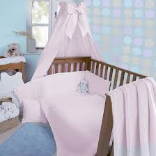 clair de lune soft waffle 3 piece cot cot bed bedding bale pink