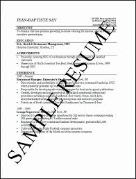Job Resume A Simple Resume Format Job Sample Of Examples Free