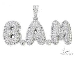 special custom white gold iced out