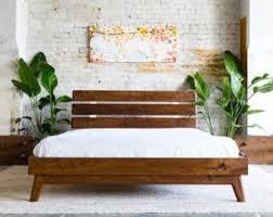wooden bed furniture design. platform bed frame midcentury modern by moderncre8ve wooden furniture design o