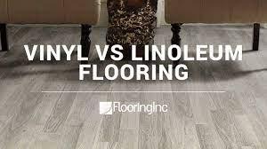 vinyl vs linoleum flooring you